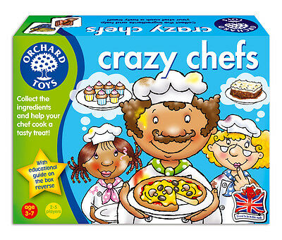 Crazy Chefs Orchard Toys Key Stage 1 Matching And Memory Game 3 - 7 Years