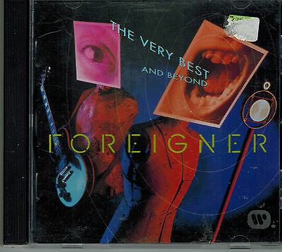 CD Foreigner – The Very Best...And Beyond  ,Sehr gut ,Tracks 2. Foto,Atlantic