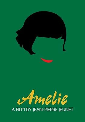 AMELIE Movie PHOTO Print POSTER Film Jean-Pierre Jeunet Audrey Tautou 001