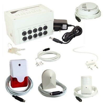 7teiliges Alarmset GSE SMS (Controller Kit 7 Parts Pflanzenbau AS12)
