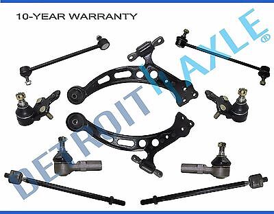 Brand New 10pc Complete Front Suspension Kit for 2002-2006 Toyota Camry