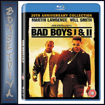 Bad Boys 1 & 2 Collection *brand New Blu-Ray Boxset***