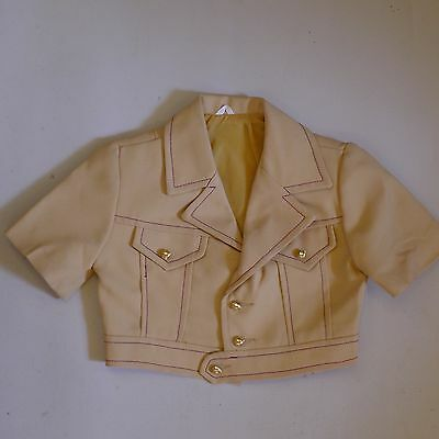 Vintage retro unused true 70s age 1  boys toddler baby western jacket as new