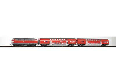 Piko 57150 Start-Set BR 218 + 2 Doppelstockwagen der DB Regio, Epoche VI, H0