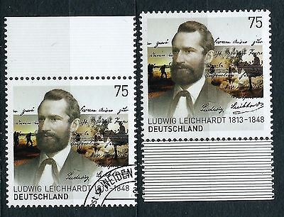 Germany stamps FDR 2013.6 LUDWIG LEICHHARDT 1813-1848