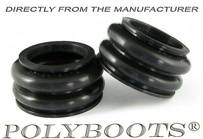 2x Polyboots BMW Telelever Ball Joint Dust Boot 27x34x21 mm Staubmanschetten