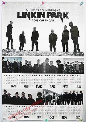 LINKIN PARK Minutes To Midnight Taiwan Promo Poster NEW