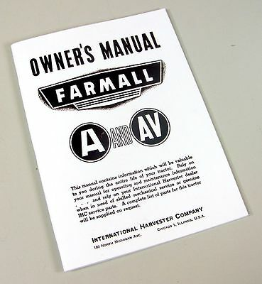 International 574 tractor owners operators manual maintenance international farmall a av tractor owners operators manual maintenance controls fandeluxe Image collections