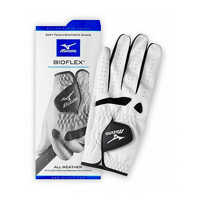 Mizuno Mens Bioflex All Weather Left Hand Golf Glove - New Leather Right Handed