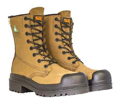 """STC Footwear 8"""" Yoho INSULATED WORK BOOT (Brown) SIZE 8-11"""