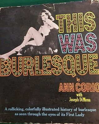 This was Burlesque  by Ann Corio 1968