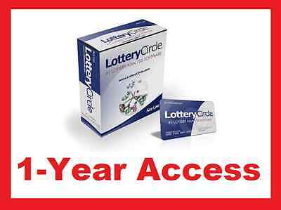 LOTTERY CIRCLE SOFTWARE Winning Lottery Number System Play Pick3/4/5/6 WIN LOTTO