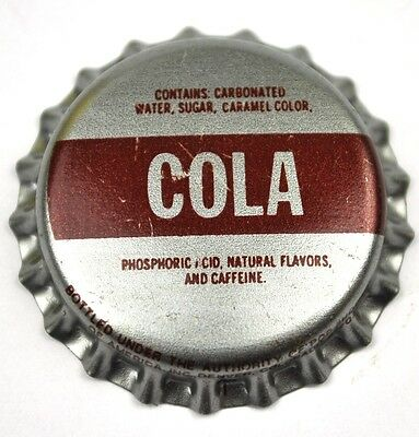 COLA Kronkorken USA Soda Bottle Cap Plastikdichtung