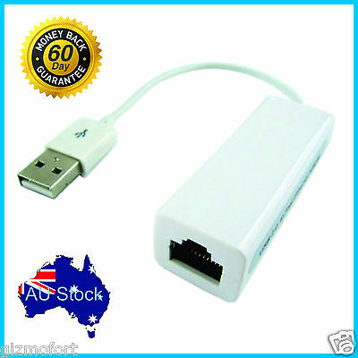USB to RJ45 LAN Ethernet Network Adapter PC Windows 7/8/10 Linux Mac