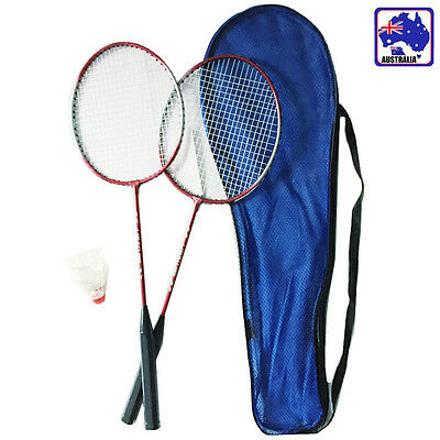 2 Players Badminton Set 2 Racquets Rackets & Shuttlecock OBADM1235