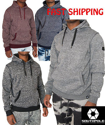 Southpole Men's Marled Pullover Hoodie 4 Colors