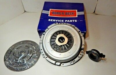 MG MGB 1800 BORG AND BECK 3 PART HEAVY DUTY CLUTCH KIT WITH ROLLER RELEASE rd6