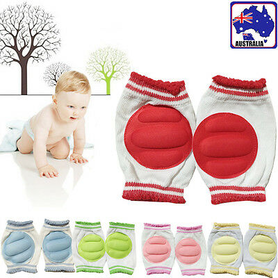 Unisex Baby Child Toddler Crawl Knee Caps Warm Protector Pads Safety BKNEE 36