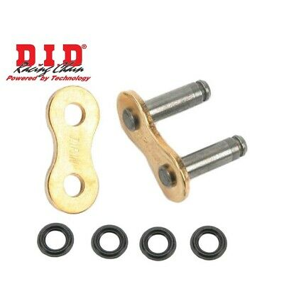 DID #520 ZJ-VX2 RING Chain Rivet Gold Joining Link MOTORCYCLE  DIDL520VX2RG