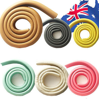 2m Table Desk Edge Corner Cushion Protective Strip Baby Safety 6 Colors BTAST 07