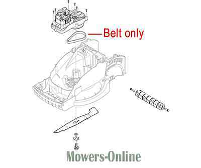 Mountfield Princess 34 Blade 181004153//0 Genuine