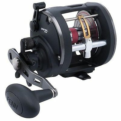 Penn New Warfare level Wind 15 Multiplier Sea Fishing Reel – Trolling Reels