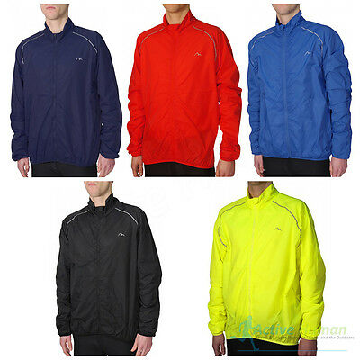 More Mile Mens Running Wind Jacket Sports Cycling Water Resistant Rain Coat Top