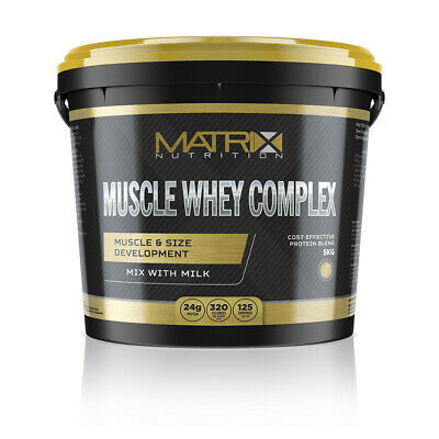 Whey Protein- Complex- Muscle Gain- All Flavours & Sizes- By Matrix Nutrition