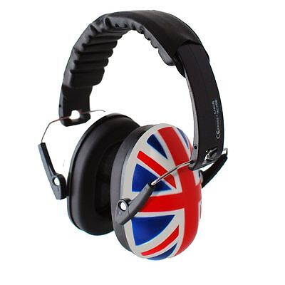 Safetots Childrens Ear Protectors Union Jack Child Toddler & Baby Ear Defenders