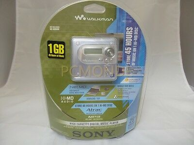 Sony MZNH600D Hi-MD MiniDisc Walkman MD Player (MZ-NH600D/SM)