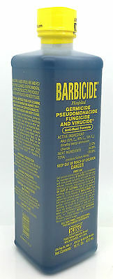 Barbicide Disinfectant Concentrate Solution Anti Rust Formula GERMICIDAL 16 Oz