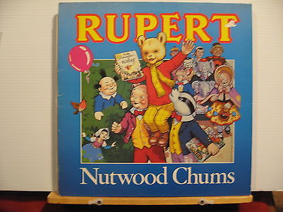 Rupert & His Nutwood Chums - First Album of Songs - Free UK Post