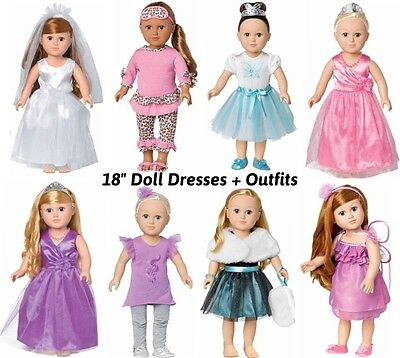 """18"""" DOLL Outfit for American Girl-Our Generation Clothes Formal Casual Wear"""