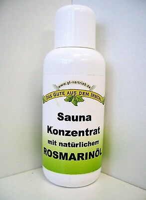 Sauna Tisanerie Concentrate Rosemary 100ml