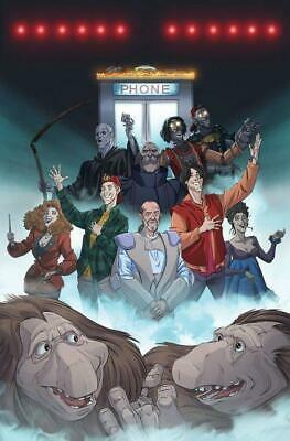 Bill & Ted Most Triumphant Return #2 1:10 Variant Cover by Dan Schoening