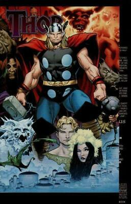 Thor #604 1:15 Variant Gatefold Cover by Oliver Coipel