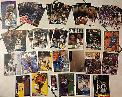 Lot 37 Cartes Basket Nba Special Shaquille O'neal