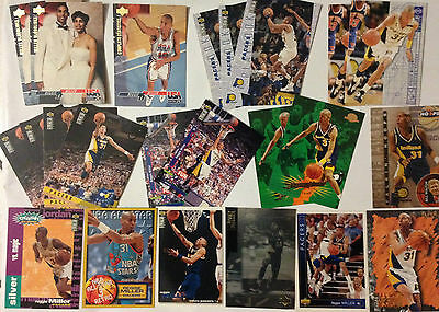 Lot 23 Cartes Basket Nba Special Reggie Miller
