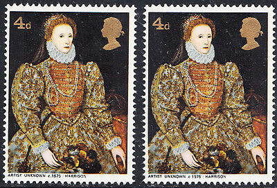 GB 1968 British Paintings SG771Ey Missing Phosphor Omitted Error Unmounted Mint