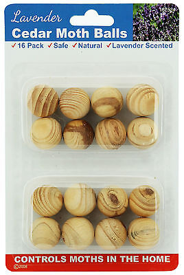 48 Pieces of Lavender Cedar Moth Balls For Wardrobe Drawer Protection 167524