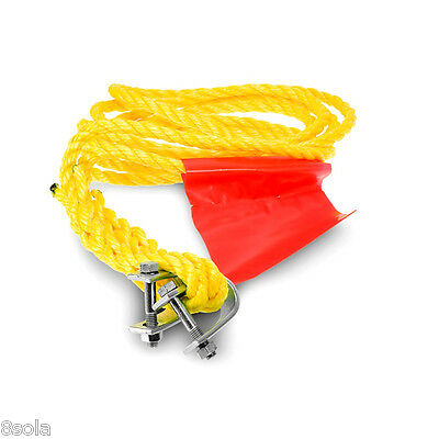 Super Strong Tow Towing Rope 1500 KG with Shackles Heavy Duty Strap for Recovery