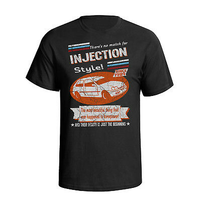 Fiesta Xr2i Classic Ford Injection 1989 Retro Style Mens Car T-Shirt