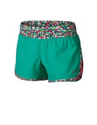 Nike Big Girls Tempo Shorts Ice Blue or Heather Green (Retail $35.00) NWT!!!