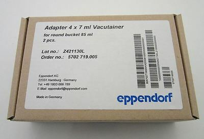 Eppendorf 4 x 7ml Vacutainer Adapters, Cat. # 022637242
