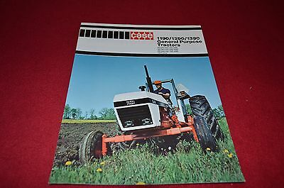 Case Tractor 1190 1290 1390 Tractor Dealer's Brochure YABE7