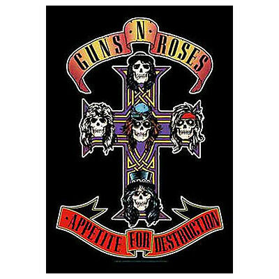 GUNS N ROSES Appetite For Destruction Cloth Poster Flag Wall Banner New 30 x 40