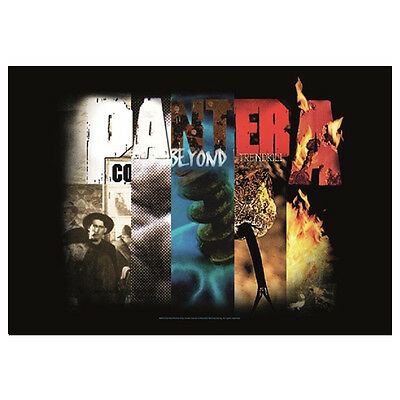 """PANTERA Collage Tapestry Cloth Poster Flag Wall Banner New 30"""" x 40"""""""
