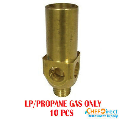 10 Pcs Replacement Brass Tip for Jet Burner 23/32 Tip, LP/Propane Gas
