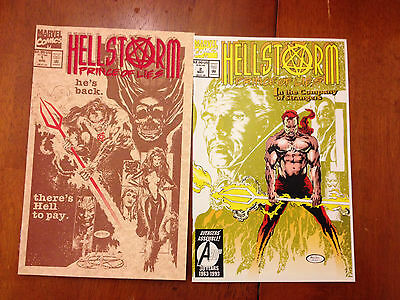 Hellstorm lot of 8 comics 1 2 3 5 6 7 9 10    NM- 9.2