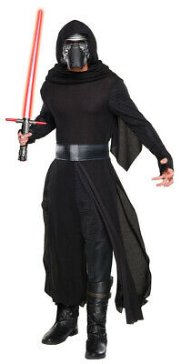 Star Wars The Force Awakens Kylo Ren Deluxe Costume with Mask NEW UNWORN